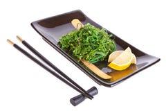 Chuka salad and chopsticks Stock Photo