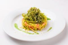 Chuka salad in a plate Stock Photography