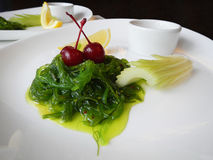 Chuka salad with sesame Stock Image