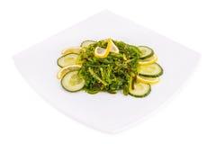 Chuka salad. On white background Stock Image