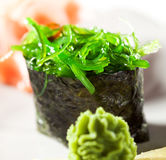 Chuka Seaweed Gunkan Stock Images