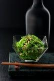 Chuka seaweed salad. Traditional salad of seaweed Chuka Stock Photo