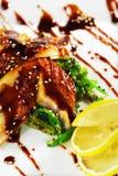 Chuka Seaweed with Unagi Salad Stock Image