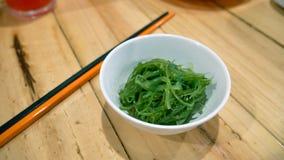 Chuka wakame或海草沙拉 库存图片