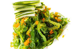 Chuka Wakame seaweed salad. Royalty Free Stock Photography