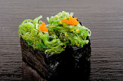 Chuka Wakame Sushi Stock Photos