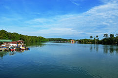 Chukai river II. This shot was taken at Bukit Kuang, Chukai, Trengganu, Malaysia Royalty Free Stock Photography