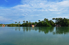 Chukai river. This shot was taken at Bukit Kuang, Chukai, Trengganu, Malaysia Stock Photo