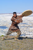 Chukchi folk dance Stock Photo