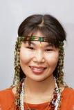 Chukchi Frau Lizenzfreie Stockbilder