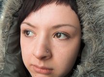 Chukchi woman Royalty Free Stock Photos