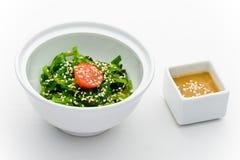 Chukka Meerespflanzesalat lizenzfreies stockbild
