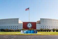 Chula比斯塔运动精英培训中心的访客中心 免版税图库摄影