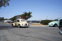 Chula Vista, California - July 30, 2017: 19th Annual Airheads Parts/KGPR Hwy1 Border to Border Treffen `Canada to Mexico Cruise` a. German car enthusiasts gather stock photo