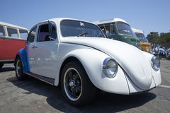 Chula Vista, California - July 30, 2017: 19th Annual Airheads Parts/KGPR Hwy1 Border to Border Treffen `Canada to Mexico Cruise` a. German car enthusiasts gather stock image