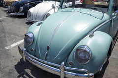 Chula Vista, California - July 30, 2017: 19th Annual Airheads Parts/KGPR Hwy1 Border to Border Treffen `Canada to Mexico Cruise` a. German car enthusiasts gather stock photos