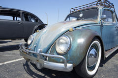 Chula Vista, California - July 30, 2017: 19th Annual Airheads Parts/KGPR Hwy1 Border to Border Treffen `Canada to Mexico Cruise` a. German car enthusiasts gather stock images