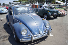 Chula Vista, California - July 30, 2017: 19th Annual Airheads Parts/KGPR Hwy1 Border to Border Treffen `Canada to Mexico Cruise` a Royalty Free Stock Photo