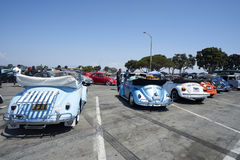 Chula Vista, California - July 30, 2017: 19th Annual Airheads Parts/KGPR Hwy1 Border to Border Treffen `Canada to Mexico Cruise` a Royalty Free Stock Images