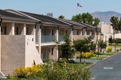 Housing for Athletes at CV Elite Athlete Training Center. CHULA VISTA, CALIFORNIA - JUNE 30, 2017:  Housing for Olympic and Paralympic athletes training for Stock Photo