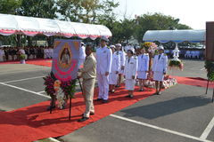 Chulalongkorn dag royaltyfria bilder