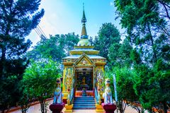 Chulalongkorn King Rama 5 Hall in Wiangkalong Culture City. Thailand royalty free stock photo
