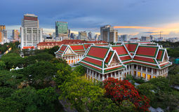 Chulalongkorn University. Is one of the best universities in Thailand located in Bangkok royalty free stock images