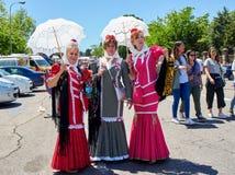 Chulapas honours its patron at festivity of San Isidro. Madrid. Stock Photography