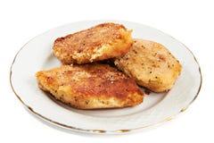 Chuletas de la patata Foto de archivo libre de regalías