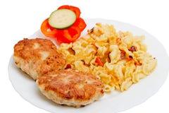 Chuletas del pollo imagen de archivo