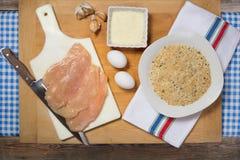 Chuletas del pollo Fotos de archivo libres de regalías