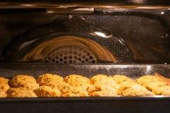Chuletas en el horno imagen de archivo libre de regalías
