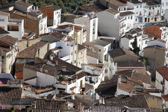 Chulilla village Los Serranos county Valencia  Spain Stock Photography