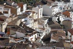 Chulilla village Los Serranos county Valencia  Spain Stock Photography