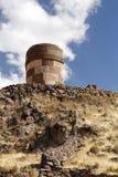 Chullpa van Sillustani Stock Afbeeldingen