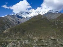 Chulu from Upper Khangsar, Nepal Stock Photo