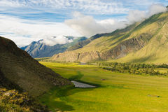 Chulyshman Valley, Altai Royalty Free Stock Photography