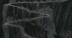 Chulyshmanskaya-Tal im Herbst, Altai, Russland stock video