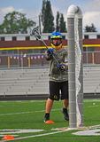 Chumash Lacrosse shot Stock Photography