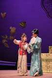 "Chumouhua-Kunqu Opera ""the West Chamber"" Royalty Free Stock Photography"