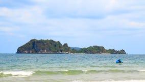 Chumphon的,泰国热带海 股票录像