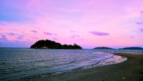 Chumphon. Paknam chumphon beach Stock Photography
