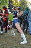Chun-Li at Lucca Comics and Games 2014 Stock Photography