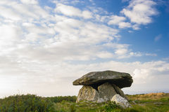 Chun Quoit Cornwall England UK Stock Photo