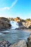 Landscape chunchanakatte water falls karnataka royalty free stock images