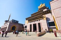 Chung Tai Chan Monastery em Taiwan fotos de stock royalty free