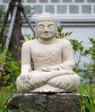 Chungcheongbuk-do, South Korea - August 29, 2016: Buddha statue in Guinsa temple Stock Images