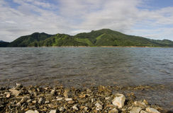 Chungju Lake Stock Image