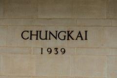 Chungkai战争公墓,数千联盟的POWs在臭名远扬的泰国死对缅甸死亡铁路被埋没 库存图片