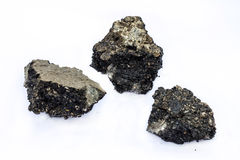 Chunk of asphalt Royalty Free Stock Photography